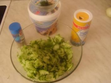 Gurkensalat - Rezept