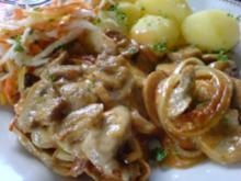 Champignon-Schnitzel - Rezept