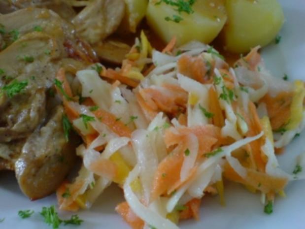 Kohlrabi-Möhren-Frischkost - Rezept - Bild Nr. 3