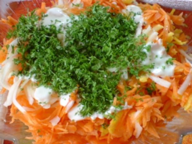 Kohlrabi-Möhren-Frischkost - Rezept - Bild Nr. 10
