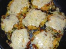 Kartoffel/Karotten-Puffer mit frischen Kräutern - Rezept