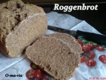Brot ~ Roggenbrot auch für den BBA geeignet - Rezept