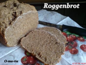 Rezept: Brot ~ Roggenbrot auch für den BBA geeignet