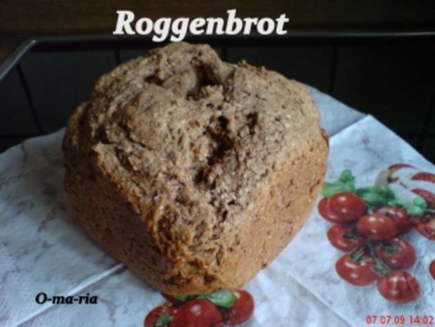 Brot ~ Roggenbrot auch für den BBA geeignet - Rezept - Bild Nr. 2