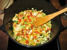 Jasminreis trifft Gemüse - Rezept