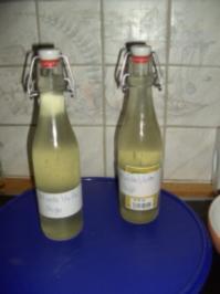 Rezept: Holunderblütensirup