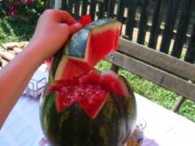 Wassermelonenbowle - Rezept