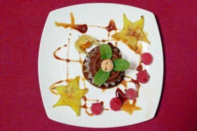 Bunet – Piemontesischer Flan mit Amarettini - Rezept