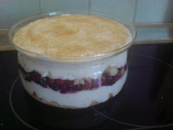 "Dessert ""Beeren-Schichtspeise"" - Rezept"