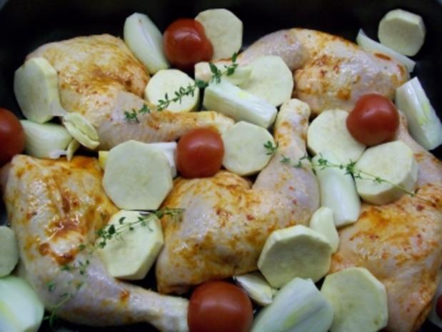 Chicken 'all in - Rezept - Bild Nr. 3