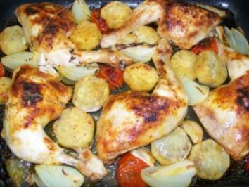 Rezept: Chicken 'all in