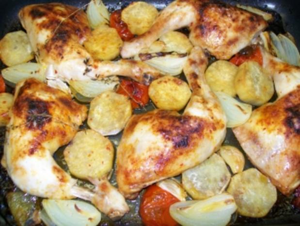 Chicken 'all in - Rezept