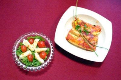 Cannelloni fatti in casa con spinaci e ricotta - Rezept