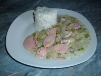 Gemüse :Kohlrabi- Topf mit Wurst - Rezept