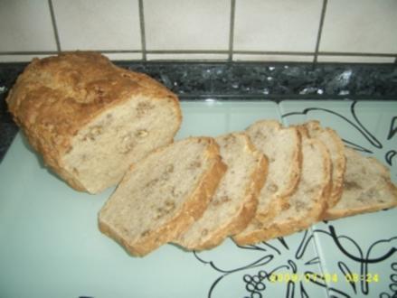Dinkel - Walnuss - Brot - Rezept