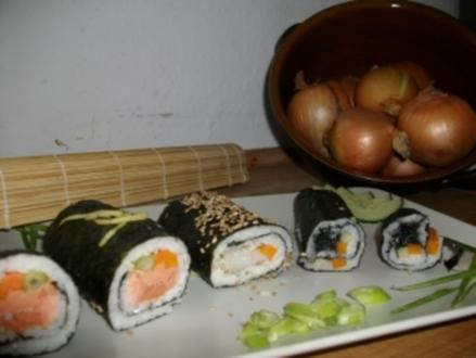 Sushi in 3 Variationen - Rezept