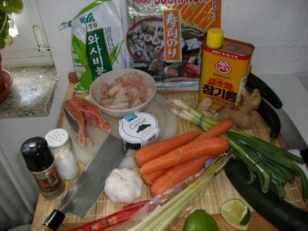 Sushi in 3 Variationen - Rezept - Bild Nr. 2