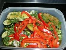 TAPAS/GEMÜSE: Zucchini,grüner Spargel,Babykarotten,Auberginen,Paprika - Rezept
