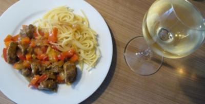 Hauptgericht --- Geschnetzeltes Rinderfilet - Rezept