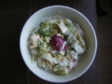 Chinakohlsalat mit Kohlrabi - Rezept