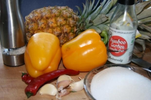 Soßen: Ananas-Sauce - Rezept - Bild Nr. 2