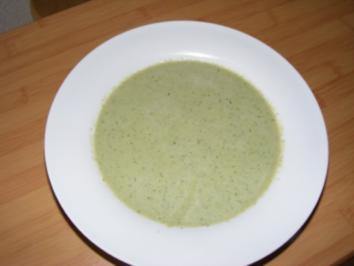 Kopfsalat- und Gurkensuppe - Rezept