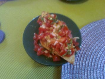 Bruschetta con Pomodoro Variante uno - Rezept