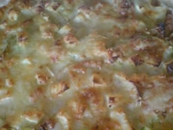 Kartoffel-Zucchini-Zwiebel-Gratin - Rezept