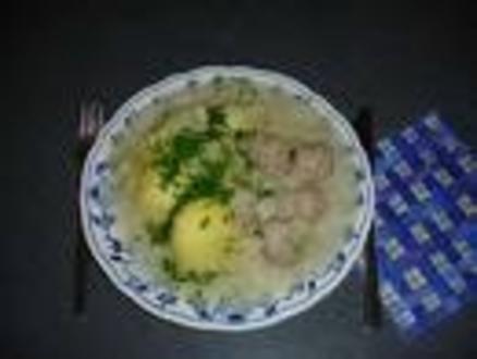 Käse Sahne Kohlrabi mit Hackfleisch - Rezept