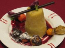 Passionsfrucht-Bananen-Granita - Rezept