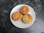 """Muffins """"Grieß-Mandel-Kirsch"""" - Rezept"""