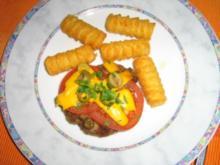 Beefsteak spezial - überbacken - Rezept