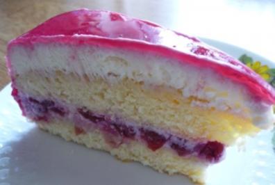 48 Quark Torte Mit Loffelbiskuit Rezepte Kochbar De