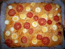 Spaghettipizza - Rezept