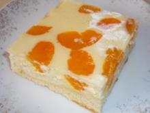 Mandarinen - Käse - Kuchen - Rezept