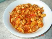 Hähnchenpfanne (Tavuk Sote) - Rezept