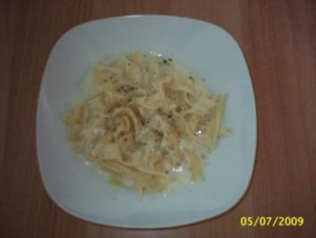 Drei-Käse-Soße - Rezept