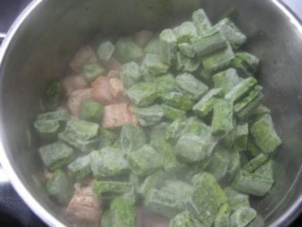 Grüne Nudeln - Rezept - Bild Nr. 4