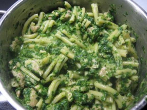 Grüne Nudeln - Rezept