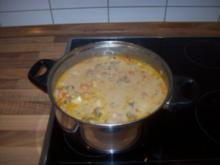 American Cheeseburger Soup - Rezept