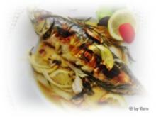Grillen: Gefüllte Makrelen  vom Grill - Rezept