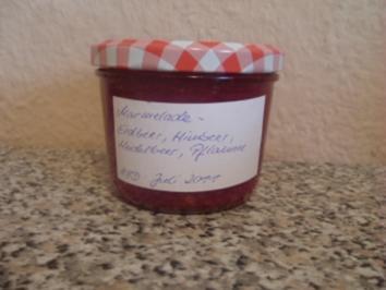 MARMELADE- ERDBEER,HIMBEER,HEIDELBEER,PFLAUME - Rezept
