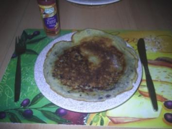 Rezept: Vegetarisch - Blaubeerpfannkuchen