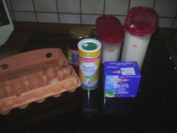 Vegetarisch - Blaubeerpfannkuchen - Rezept - Bild Nr. 2