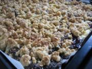 Kleckselkuchen mit Pflaumenmus - Rezept