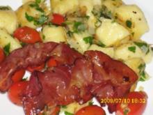 Pasta:   Gnocchi mit Salbei-Petersilienbutter - Rezept