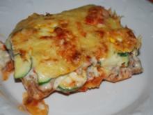 Gemüse-Hack-Kartoffel-Lasagne - Rezept