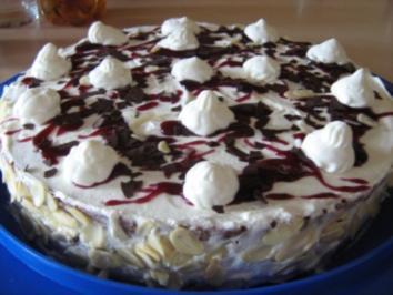 Torte mit Johannisbeergelee - Rezept