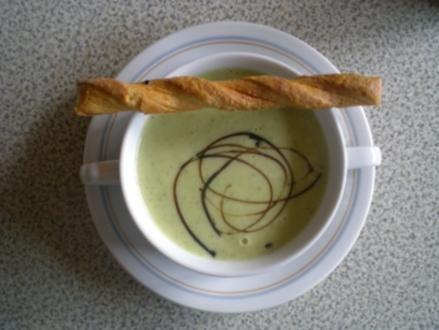 Zucchini Creme Suppe - Rezept