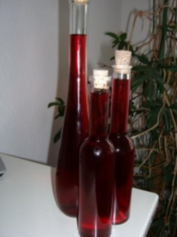 Kirschlikör mit Wodka - Rezept - Bild Nr. 2